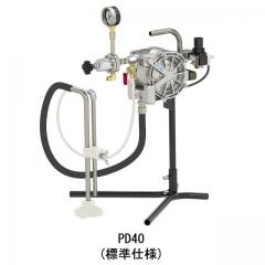 鋁合金氣動雙隔膜泵浦